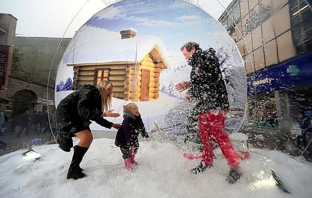 Inflatable Snow Globe 2