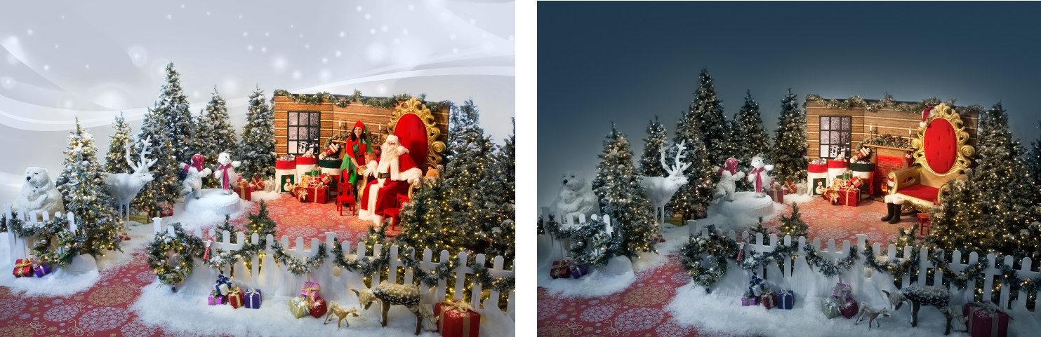 Christmas Grotto Set Rental