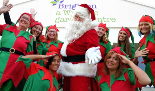 Wyevale Santa