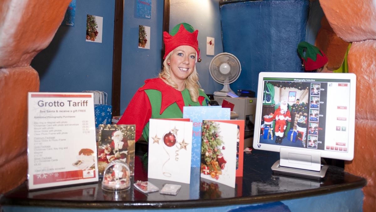Christmas Grotto Photography Retail
