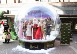 JBL Inflatable Snowglobe Harrods