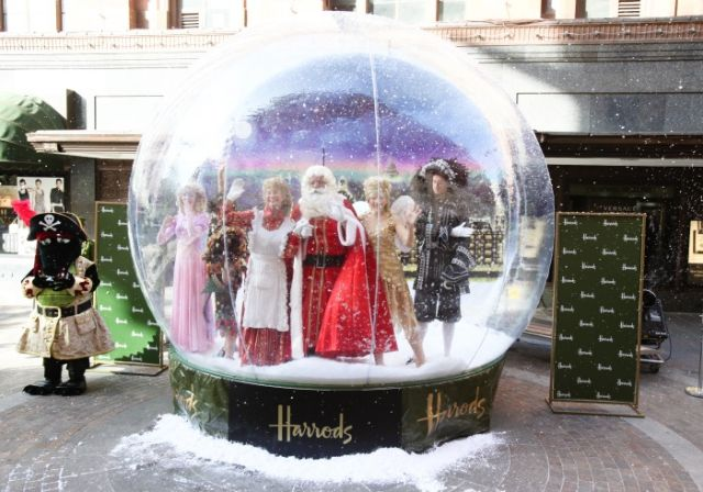 JBL Inflatable Snowglobe Harrods