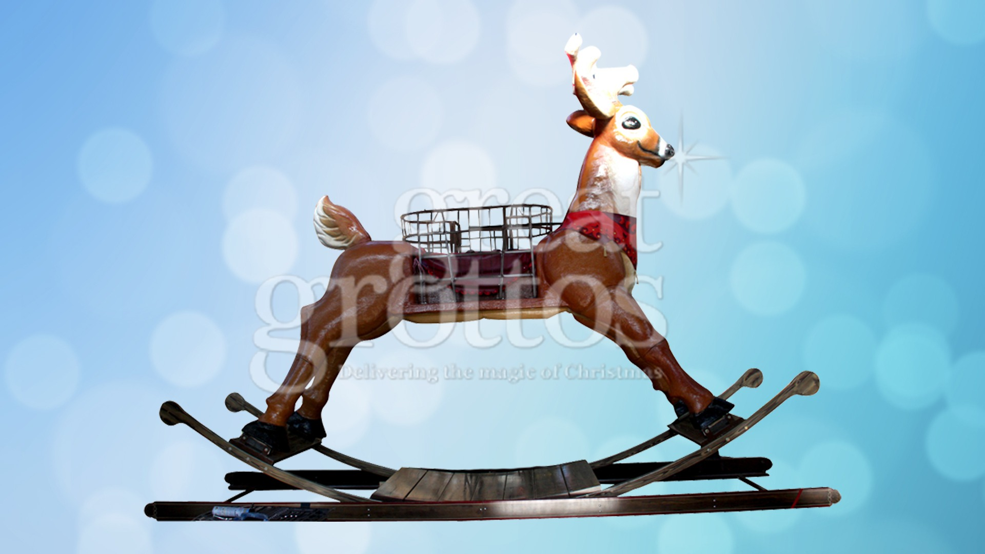 World's Largest Rocking Reindeer Hire