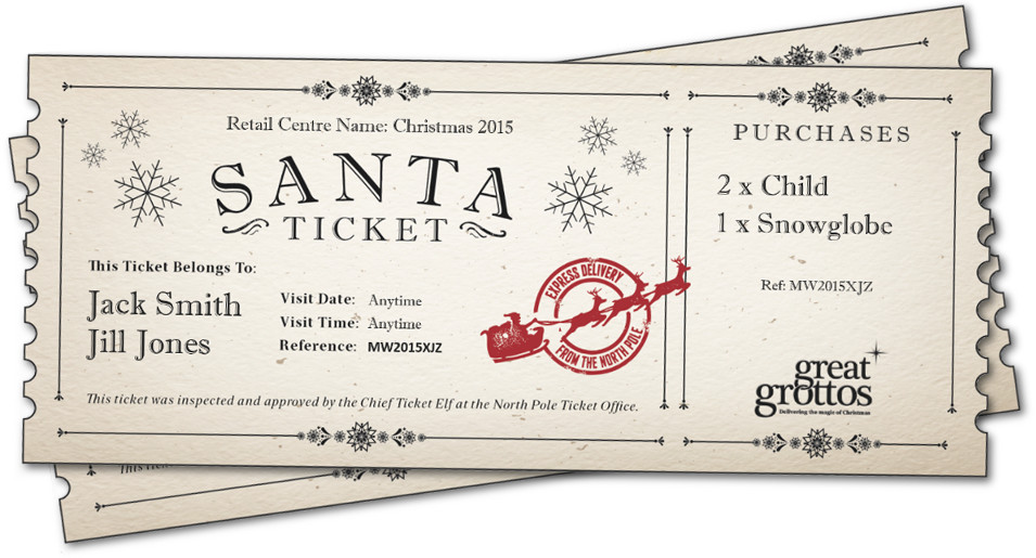 Christmas Grotto Ticket System Hire