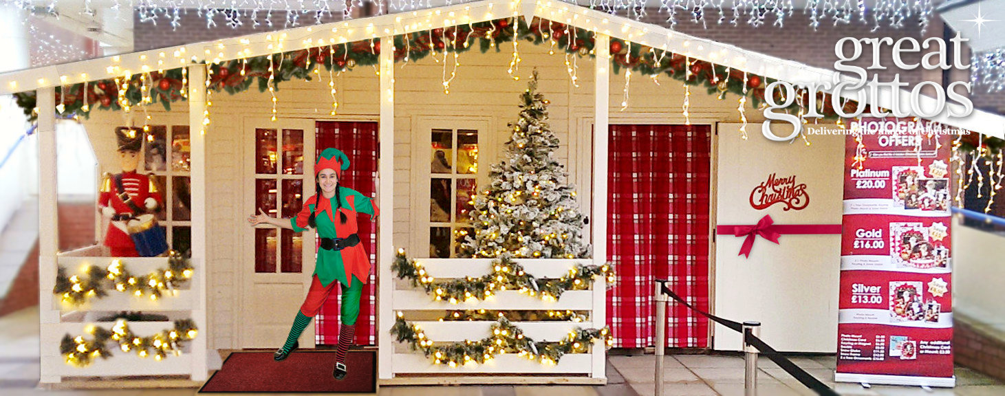 Outdoor Christmas Grotto Hire Rental