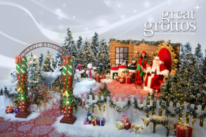 Christmas Grotto set Installation