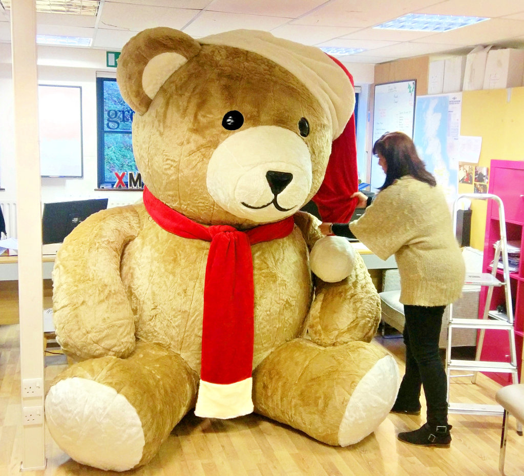 Giant Inflatable Teddy Bear