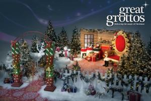Christmas Grotto set Hire