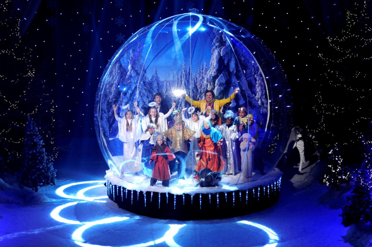 JBL Inflatable Snowglobe