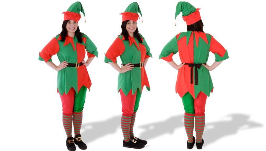 Santas Elf Costume Hire